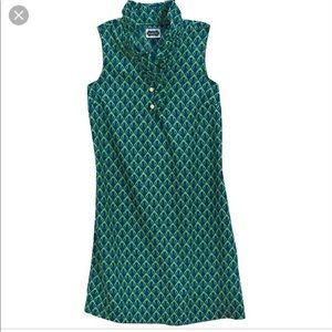 Kelly green dress!